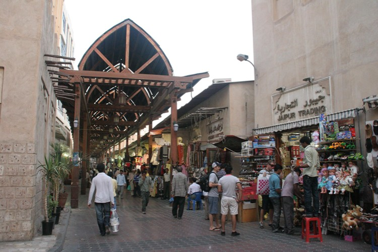 Se déplacer a pied a Dubai